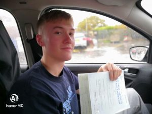 first time driving test pass