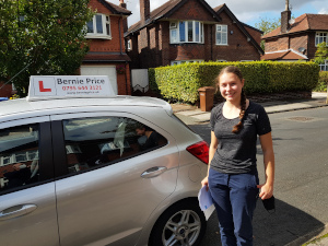 driving lessons gatley first time driving test pass